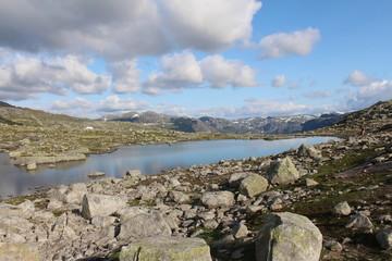 Lake on the mountains.
