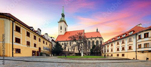 Foto op Plexiglas Bedehuis Bratislava - St. Martin cathedral, Slovakia