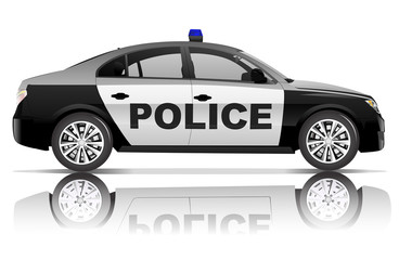 Police Car Contemporary Elegance Vehicle Concept
