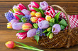 Leinwanddruck Bild - Dekoration - Blumen