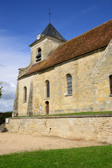 France, the classical church of Sagy in Val d Oise