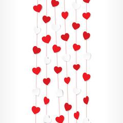 creative valentine day background design vector