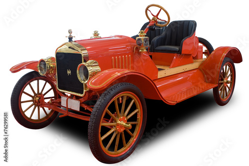 Foto op Plexiglas Vintage cars Antique Car