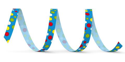 Luftschlange, Papierschlange, Spirale, Dekoration, Deko, Party