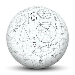 Kugel, Mathematik, Icon, Symbol, Math, Sphere, 3D, Formeln, Uni