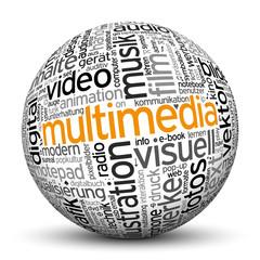 Kugel, Multimedia, Tags, Word Cloud, Text Cloud, 3D, Keyword