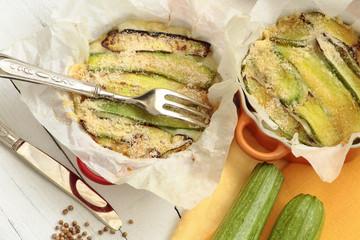 zucchini parmigiana