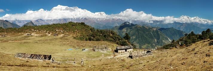 Dhaulagiri and Annapurna