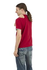 Tense shoulders