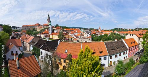 Cityscape of Cesky Krumlov in Czech Republic © CCat82