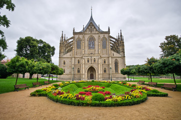 Cathedral in Kutna Hora, Czech Republic