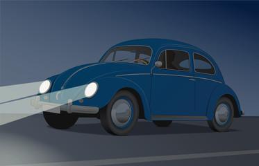 Nachtfahrt - Käfer