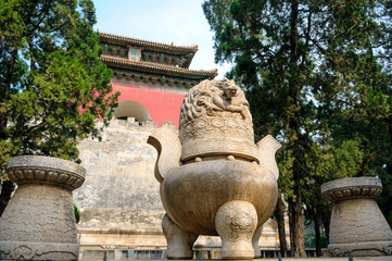 The Ming tombs mausoleum