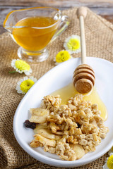 Muesli with honey