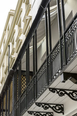 cast-iron balconies, Brighton