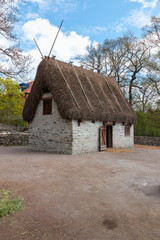 Traditional old Viking Age house
