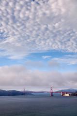 A view over the Golden Gate Bridge
