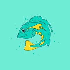 Fish / Vector illustration
