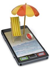 Calling on the Beach - 3D