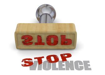 Stamp Stop Violence - 3D