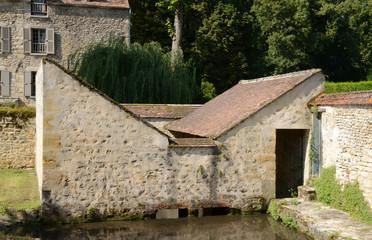 Ile de France, picturesque village of Themericourt in val d oise