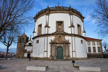 Church of Monastery of Serra do Pilar in Portugal