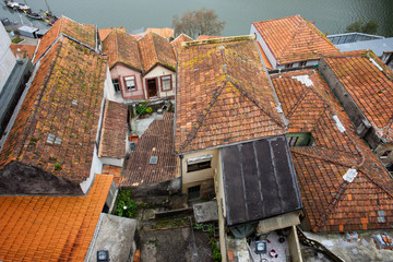 Roofs of Traditional Portuguese Houses