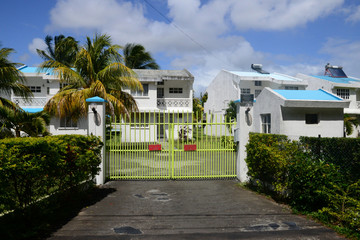 Africa, the picturesque village of Mont Choisy in Mauritius