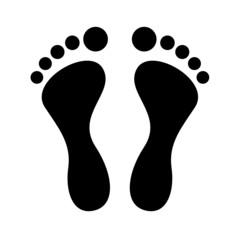 Füße Vektor