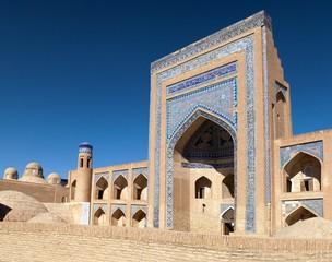 Alloquli Khan Medressa in Itchan Kala - Khiva
