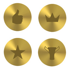 Golden insania icons