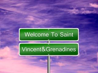 Saint Vincent Grenadines Sign