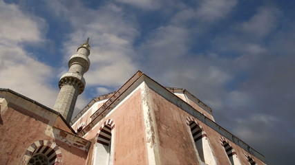 Mosque in Old Town, Rhodes, Greece