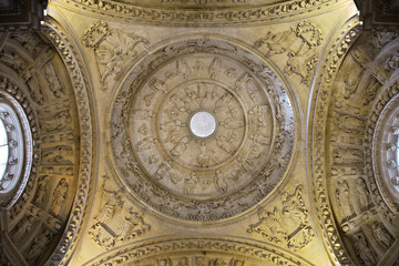 Ceiling of Seville cathedral
