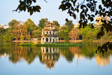 Tortoise Tower in Hoan Kiem Lake, Hanoi - 76310962