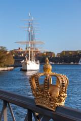 Bridge to Skeppsholmen island, Stockholm