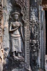 A Bas-Relief Statue