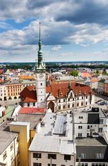 renaissance town hall, Olomouc, Czech republic