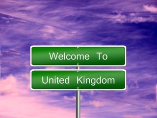 United Kingdom Travel Sign