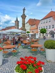 Marktplatz, Bad, Neustadt Saale, #p421