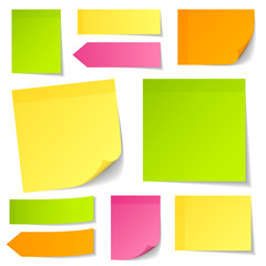 Stick Notes Mix Color Collection