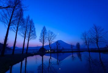 Mt.Fuji at dawn