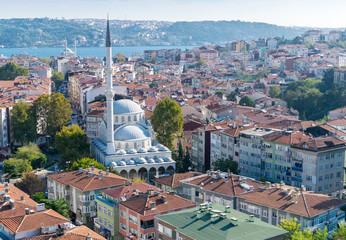 Istanbul Mosques and cityscape