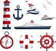 Nautical icons - 76314772