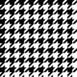 Houndstooth pattern, seamless illustration