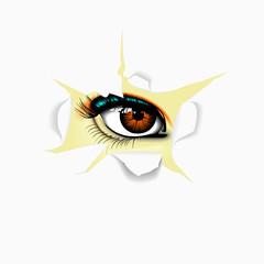 eye for paper