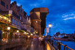 Old town of Gdansk at Motlawa river