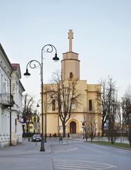 Garrison Church of St. Heart of Jesus in Siedlce. Poland