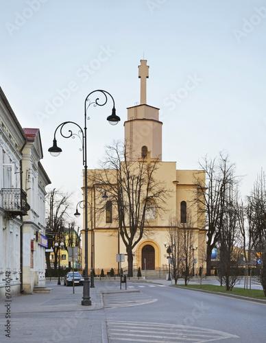 Zdjęcia na płótnie, fototapety, obrazy : Garrison Church of St. Heart of Jesus in Siedlce. Poland