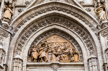 Pórtico Catedral de Sevilla
